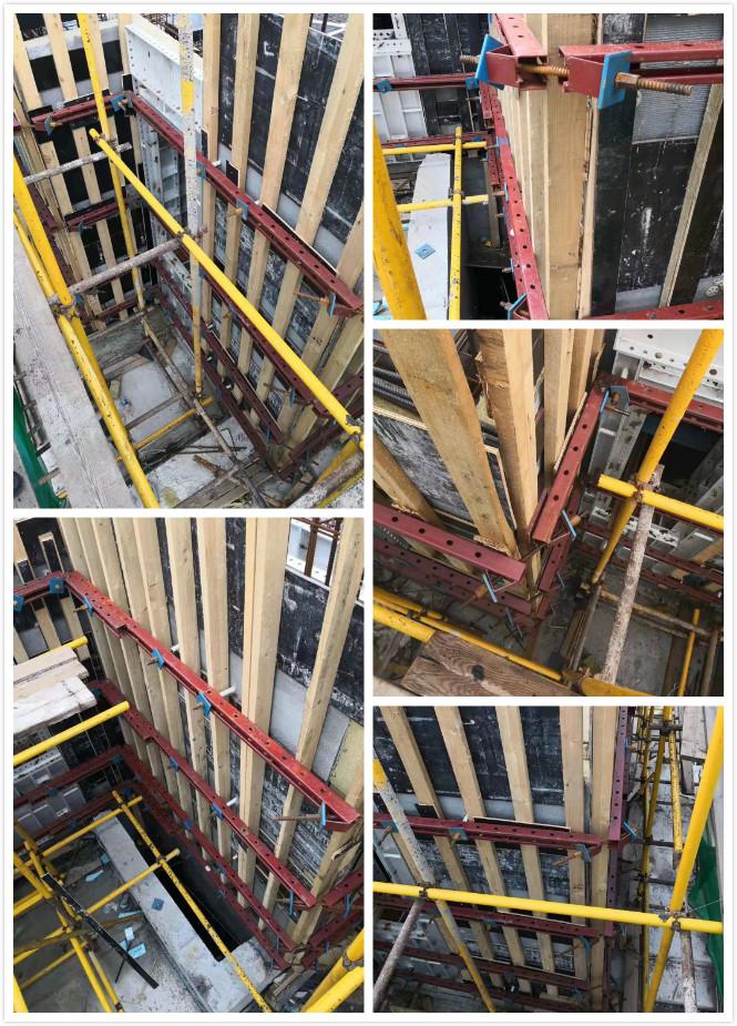 河北双环_剪力墙模板支撑体系双环新苑孟春里地块项目施工现场